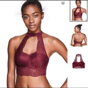 PINK Victoria's Secret Intimates & Sleepwear - VS PINK Push Up Choker L in Ruby Red